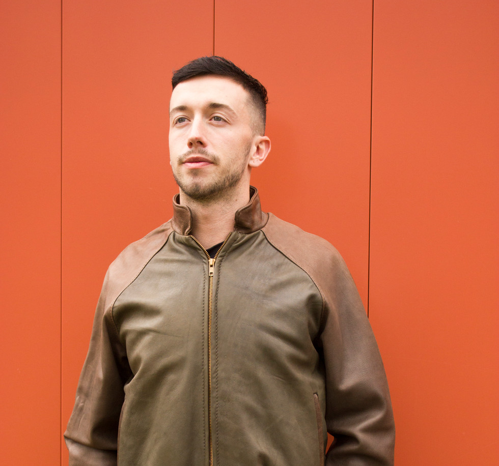 Green and Tan Unisex Bomber Jacket