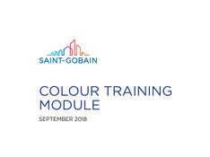 Saint Gobain Training Module