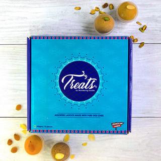 Festive Packaging design for a startup