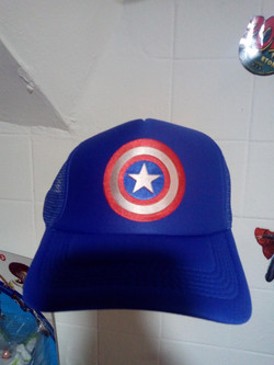 Gorra Capitan America 1