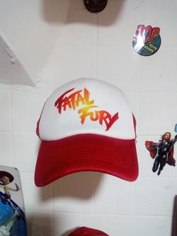 Gorra fatal fury