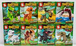 Dinosaurios tipo lego