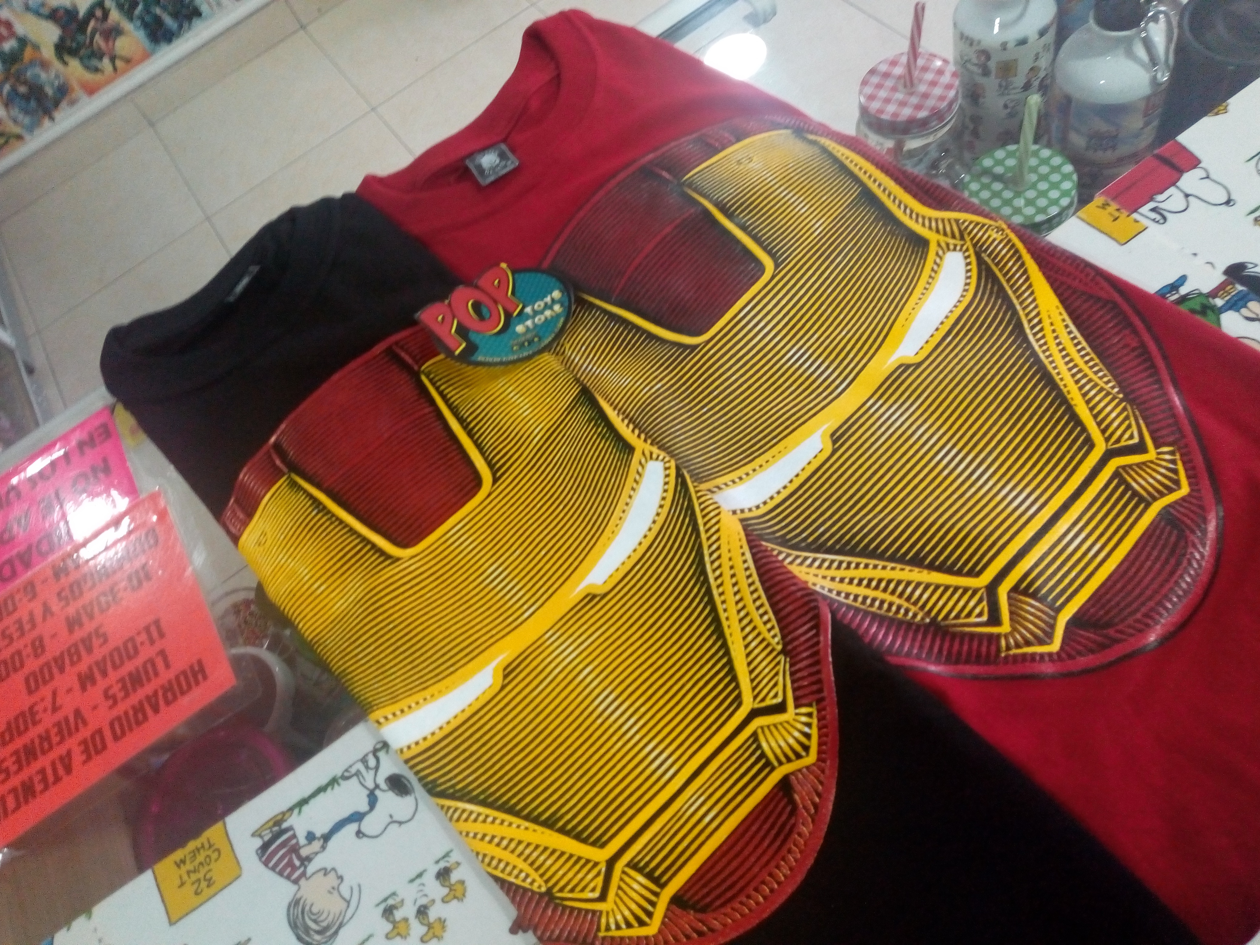 camisetas Iron Man 1