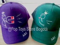 gorras pareja 1