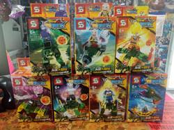 figuras  dragonball tipo lego