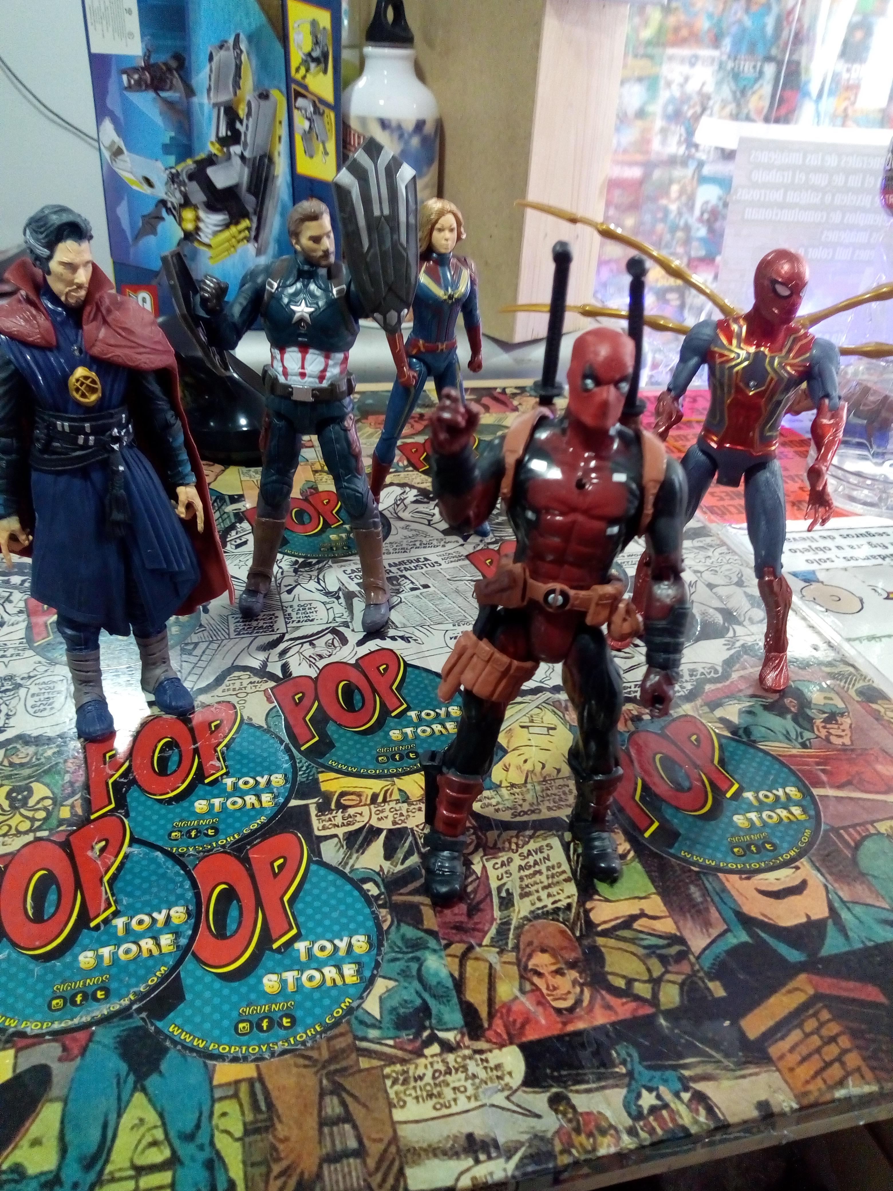 figuras articulada Marvel