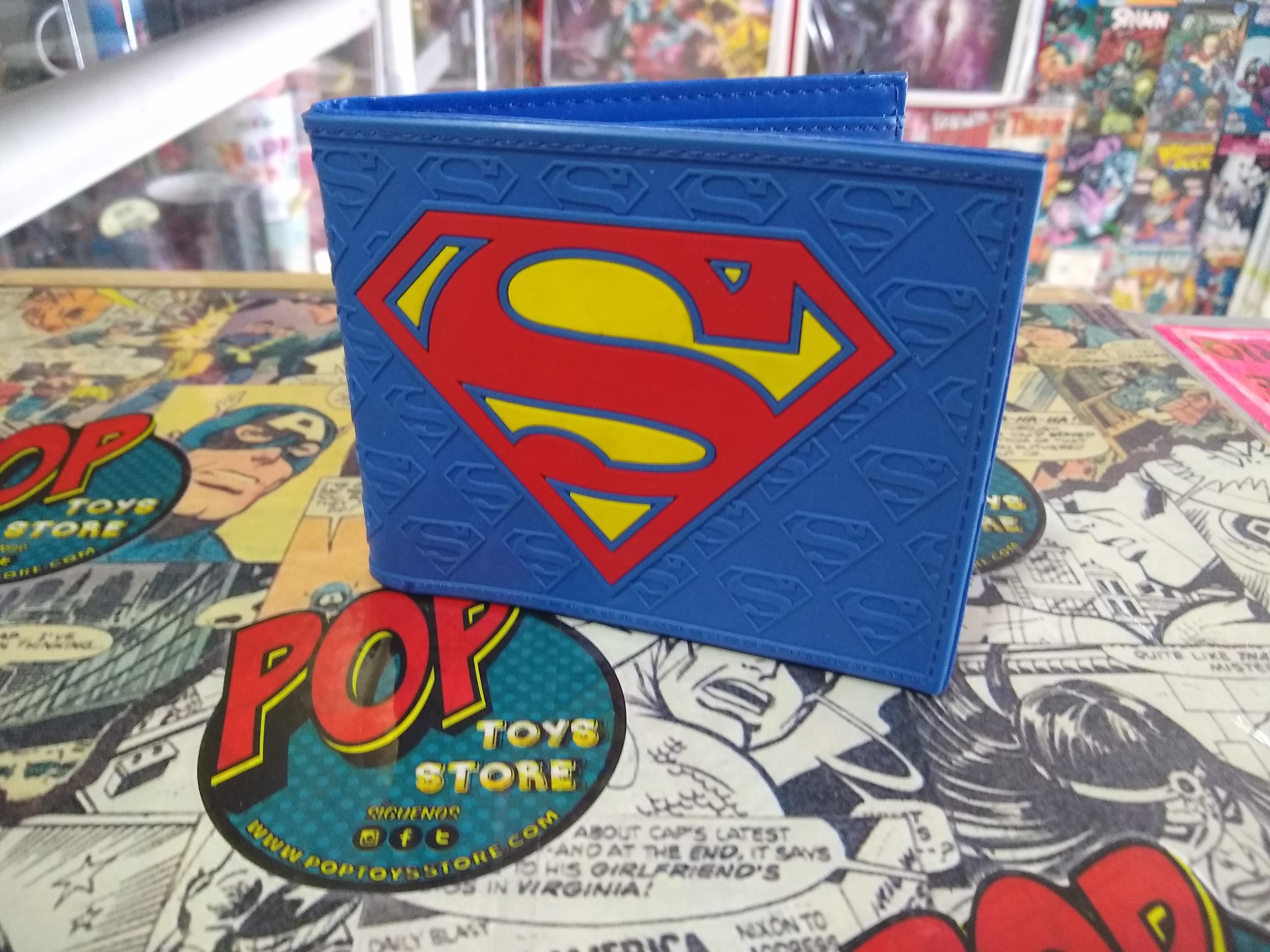 Billetera Superman logo 1