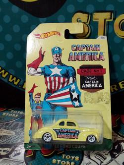 40 ford coupe  capitan america