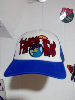 Gorra pineas and ferb