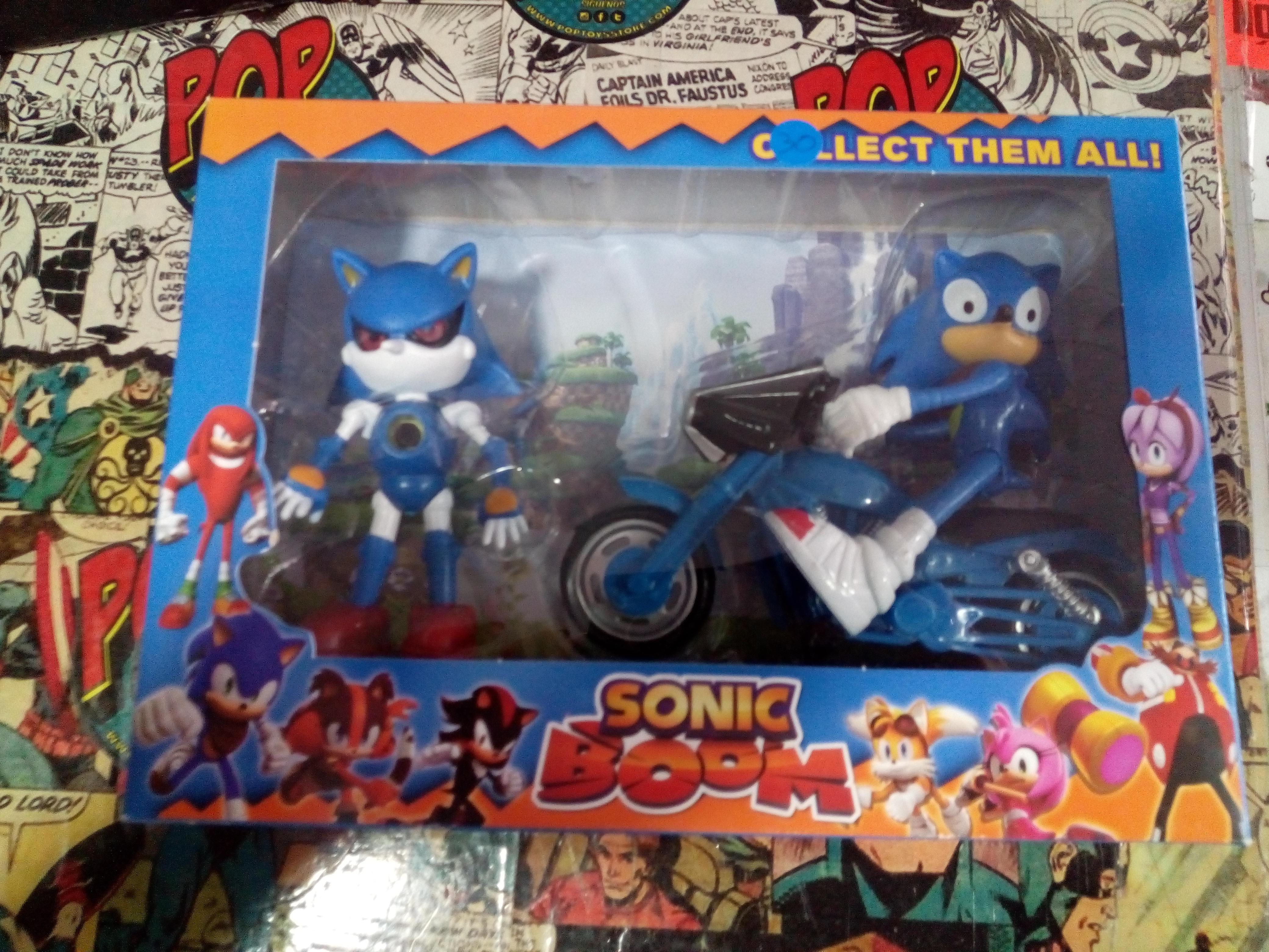 Sonic caja x 2