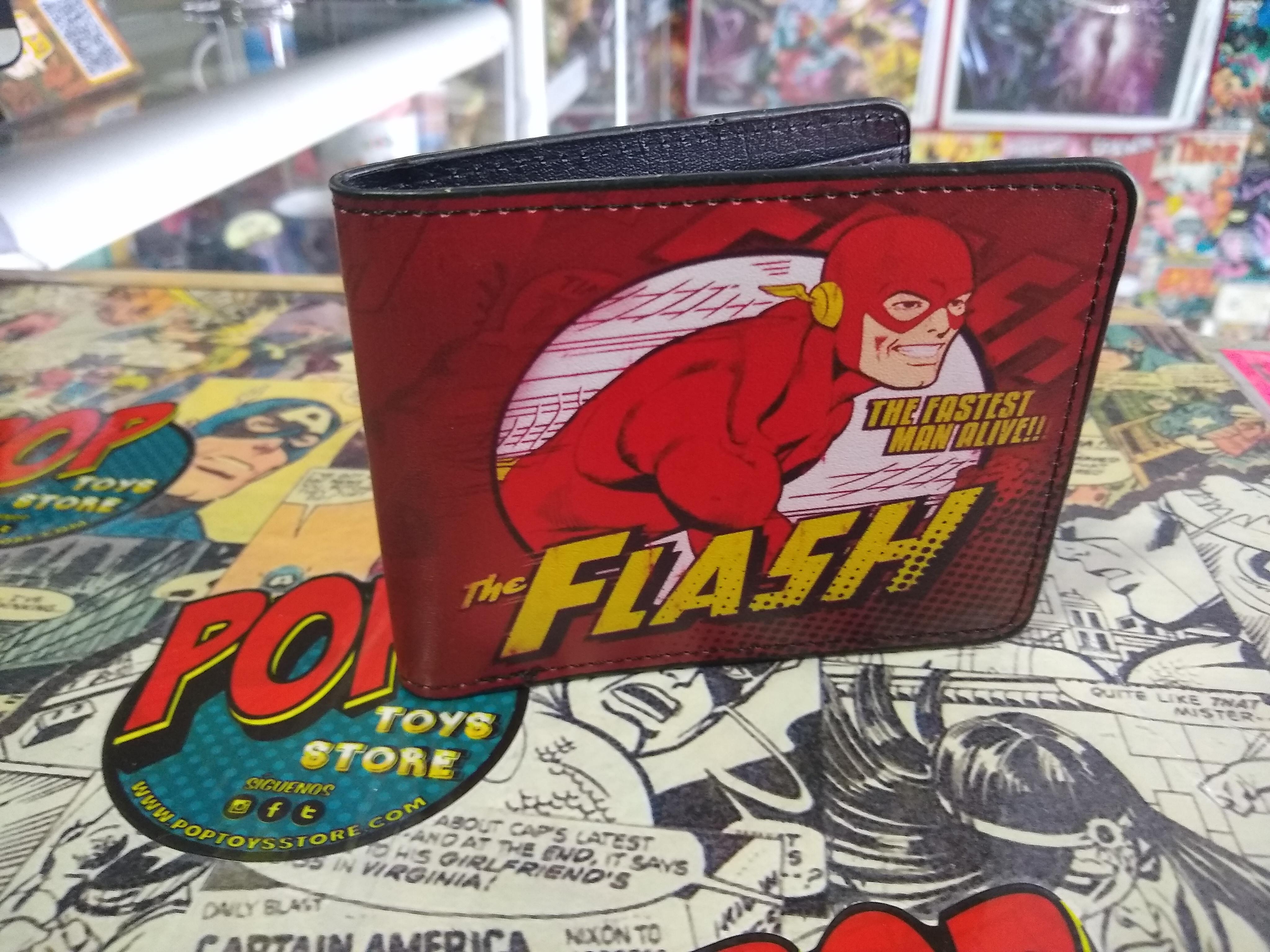Billetera Flash comic