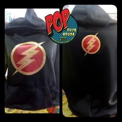Buzo flash Negro