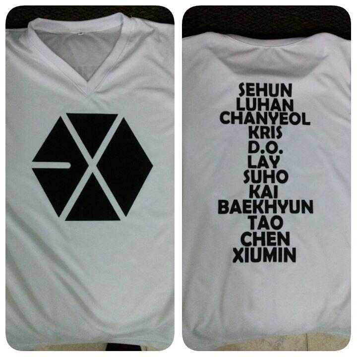 Camiseta Exo 3