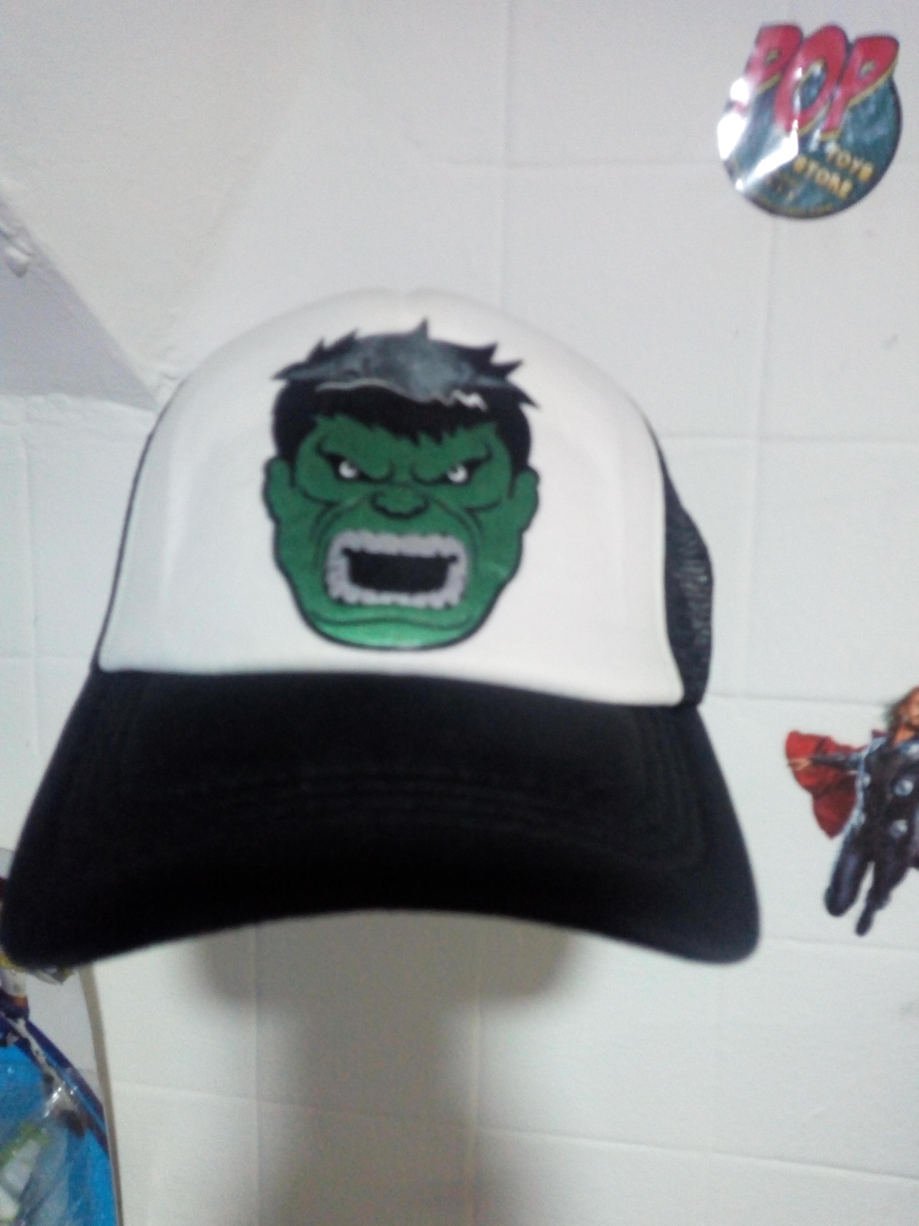 Gorra Hulk