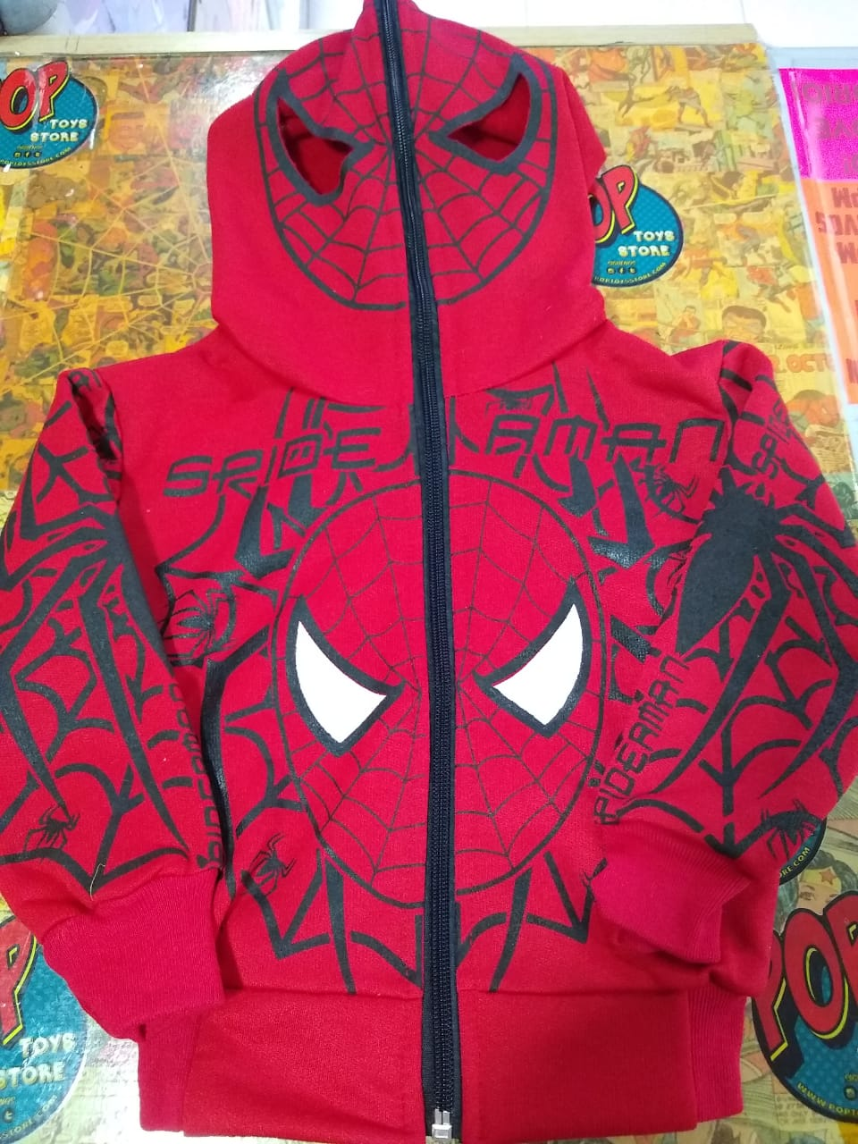 Buzo Spiderman Rojo