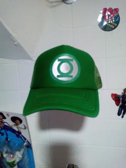 Gorra linterna verde 2