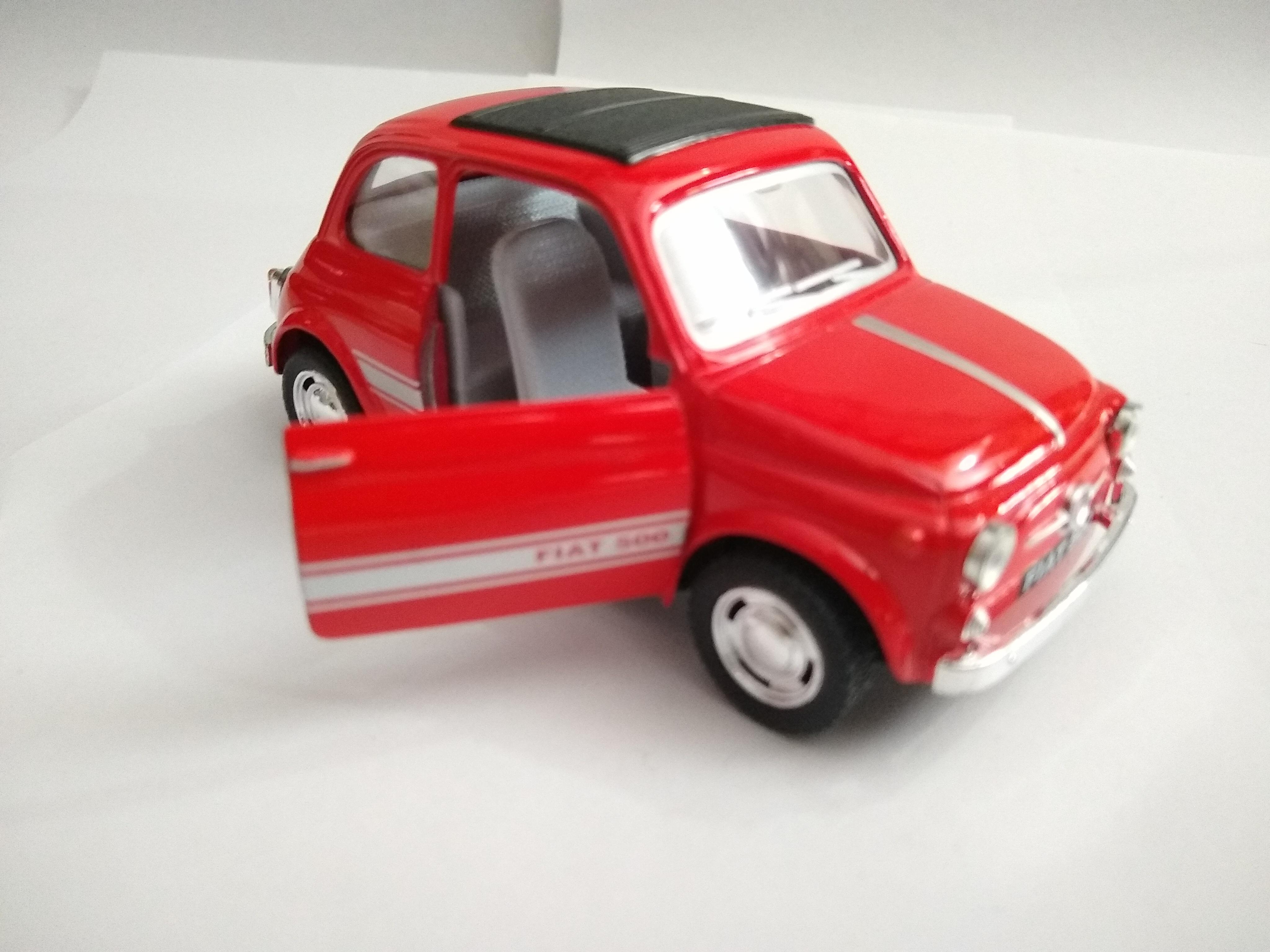 Fiat 500 Rojo