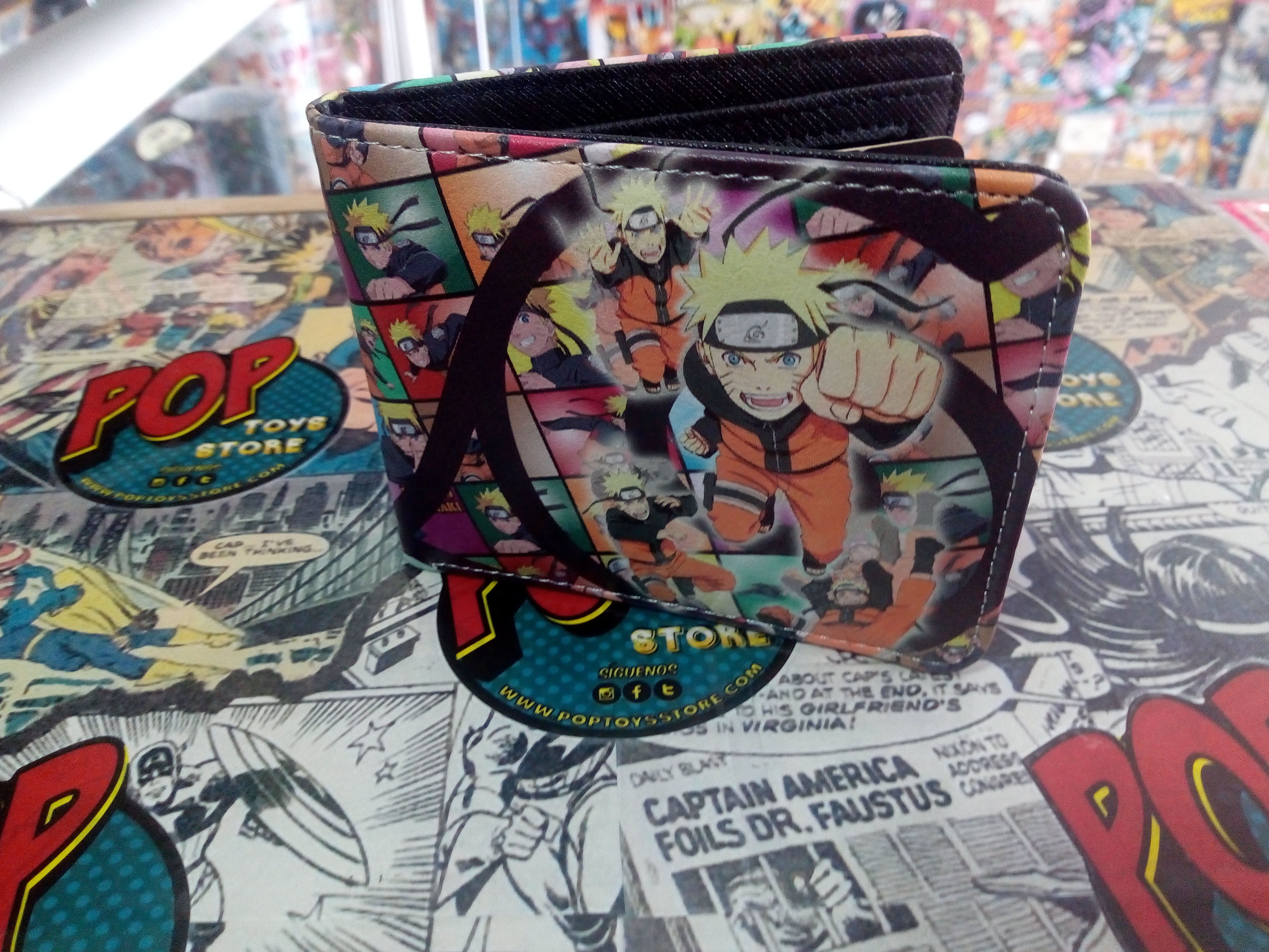 Billetera Naruto