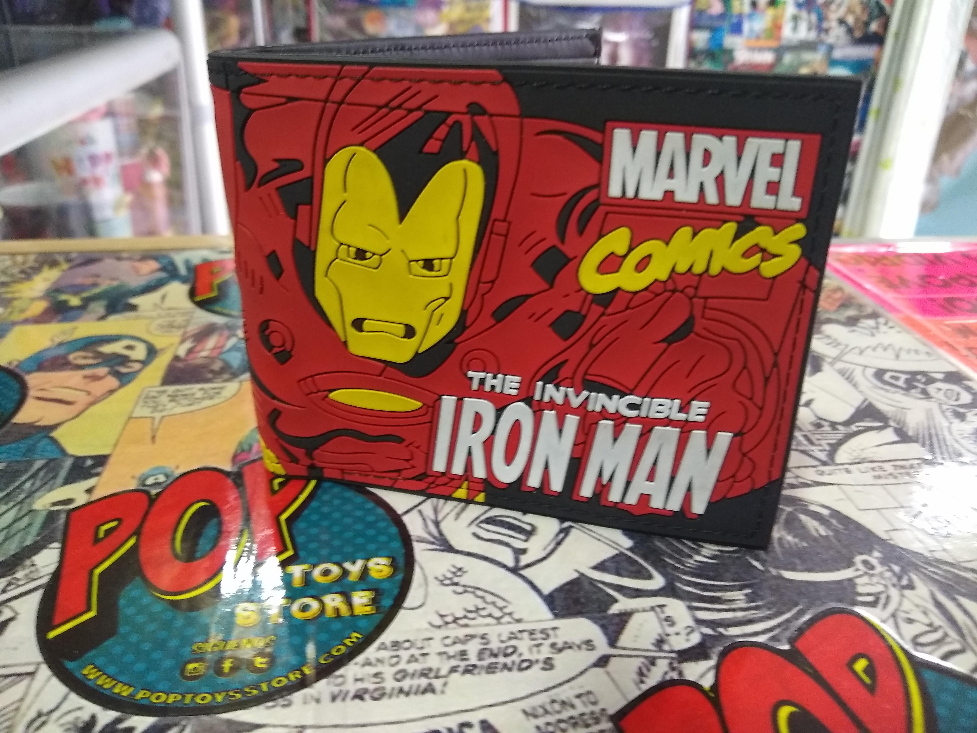 Billetera Iron Man 2