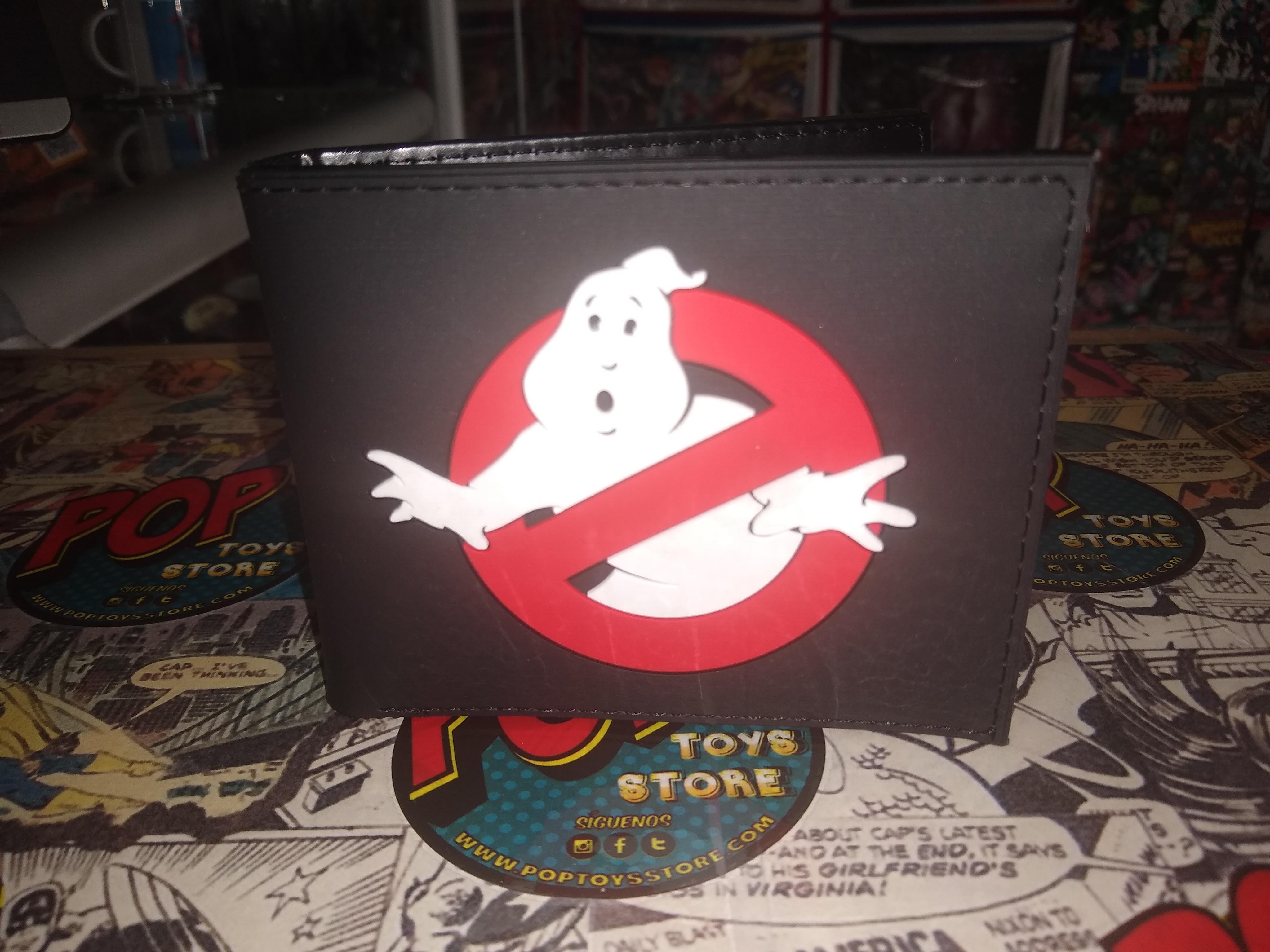 Billetera Ghostbusters logo