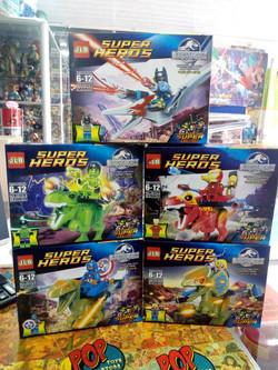 Figuras tipo Lego Avengers 1