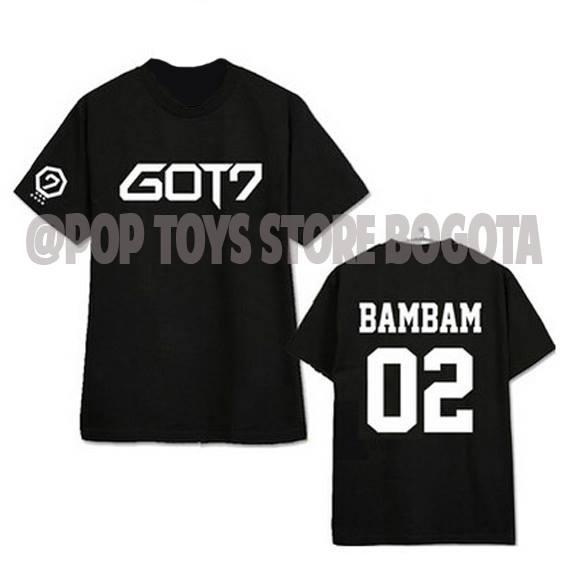 camiseta Got7 Bambam