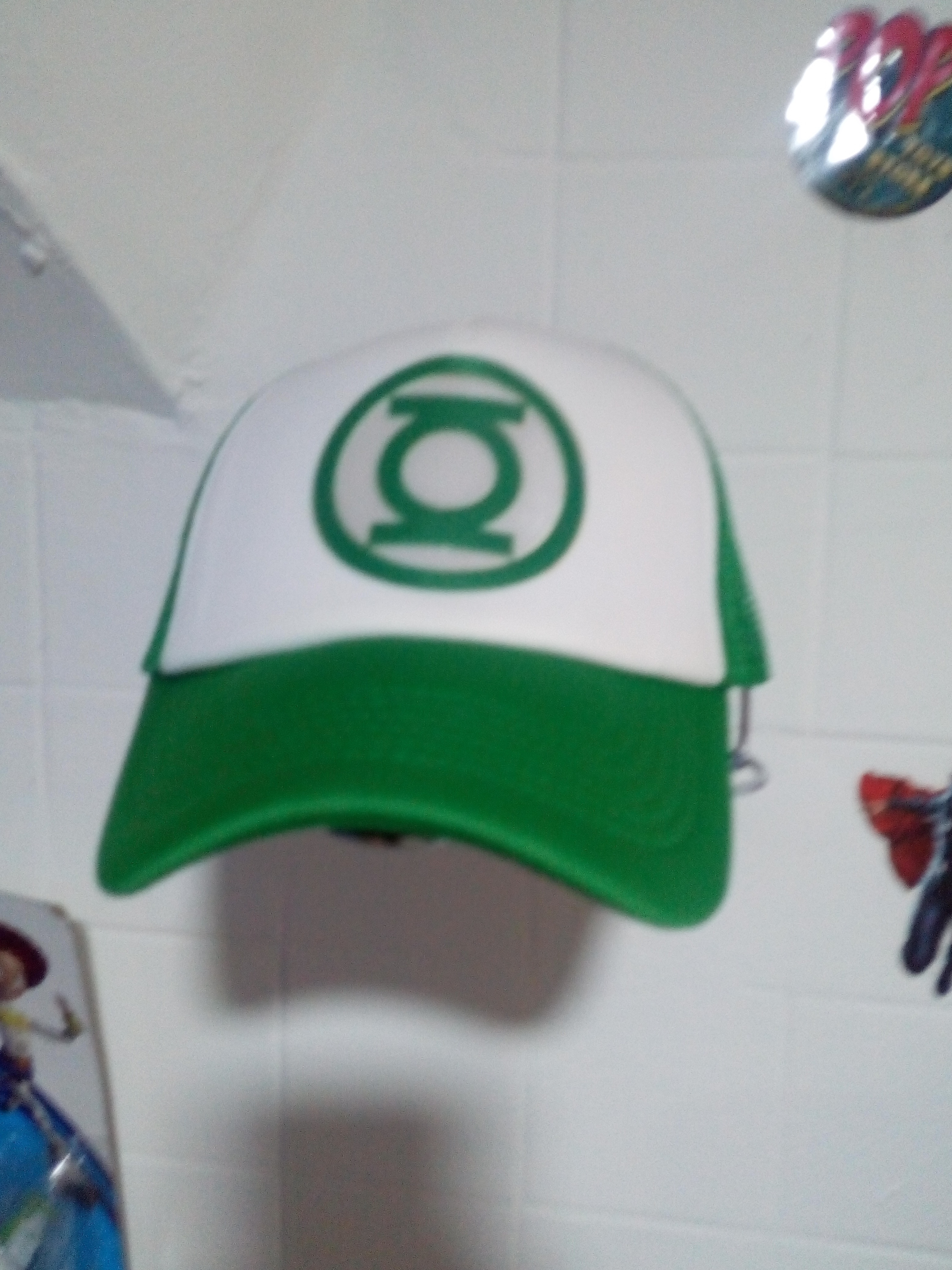 Gorra Linterna verde 1