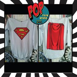 Body personalizado  Superman capa