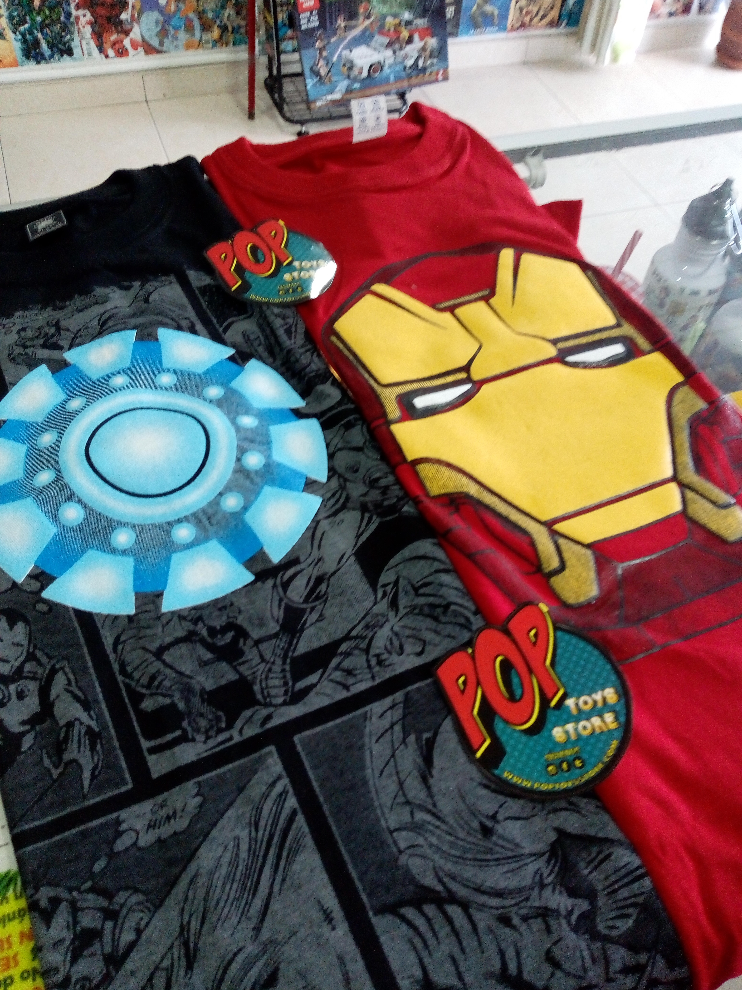 camisetas Iron Man 2