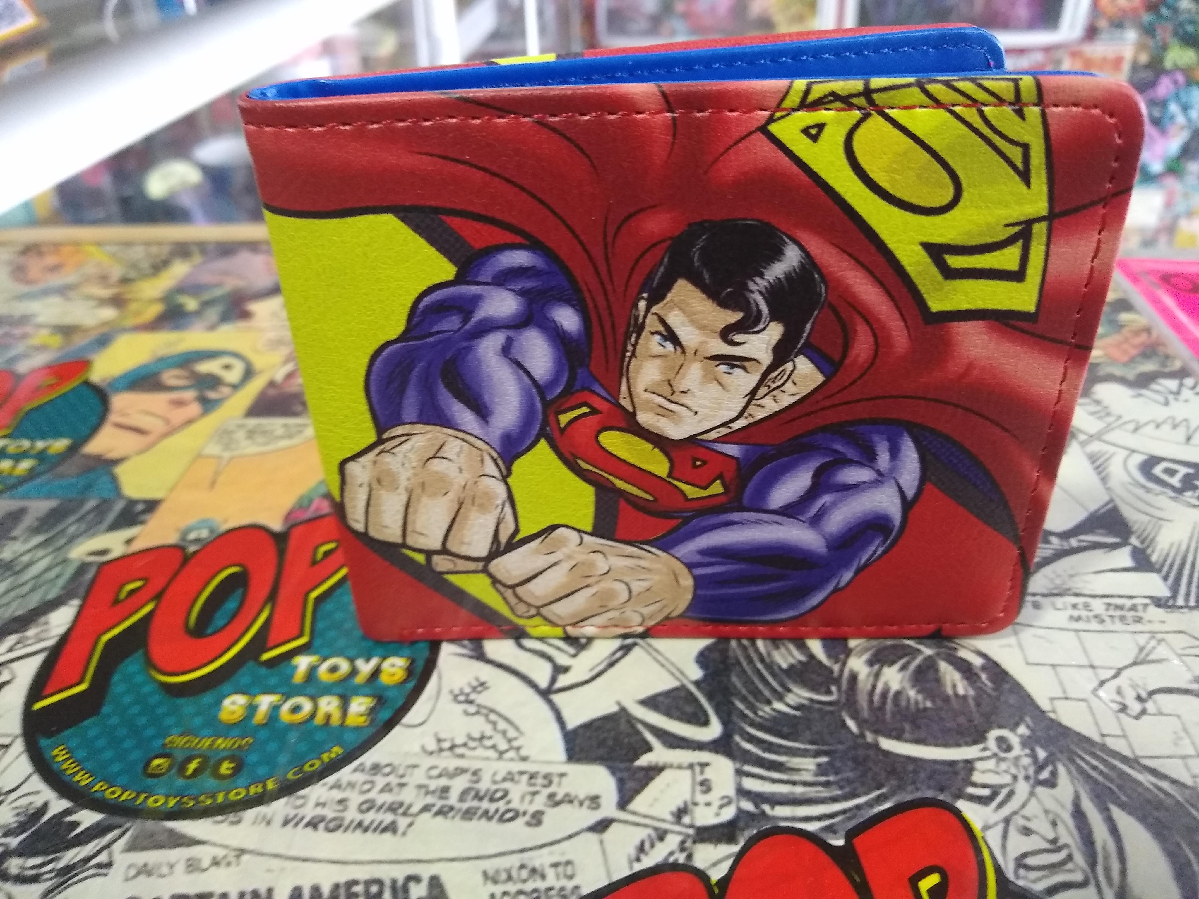 Billetera Superman comic
