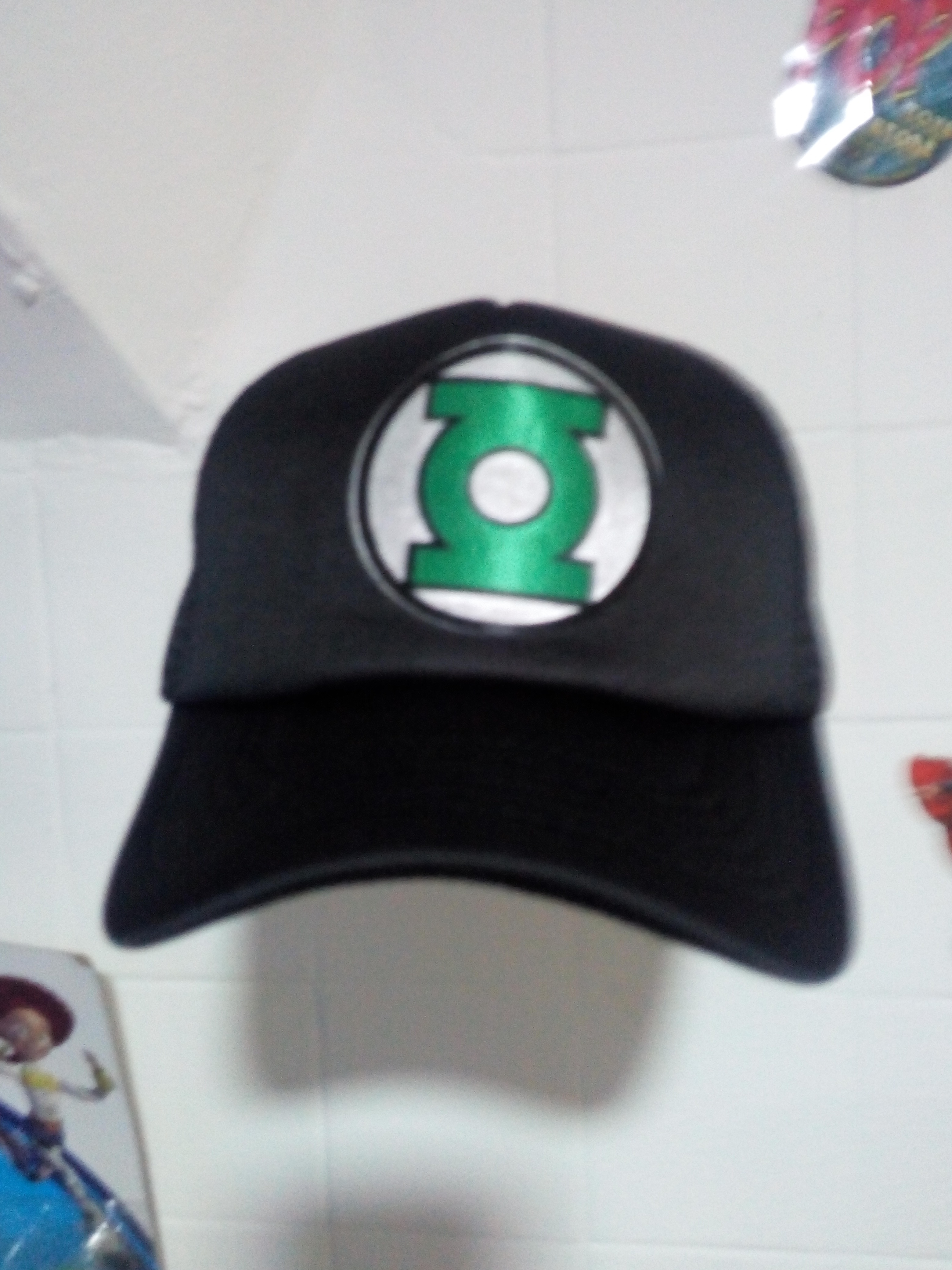 Gorra linterna verde 3