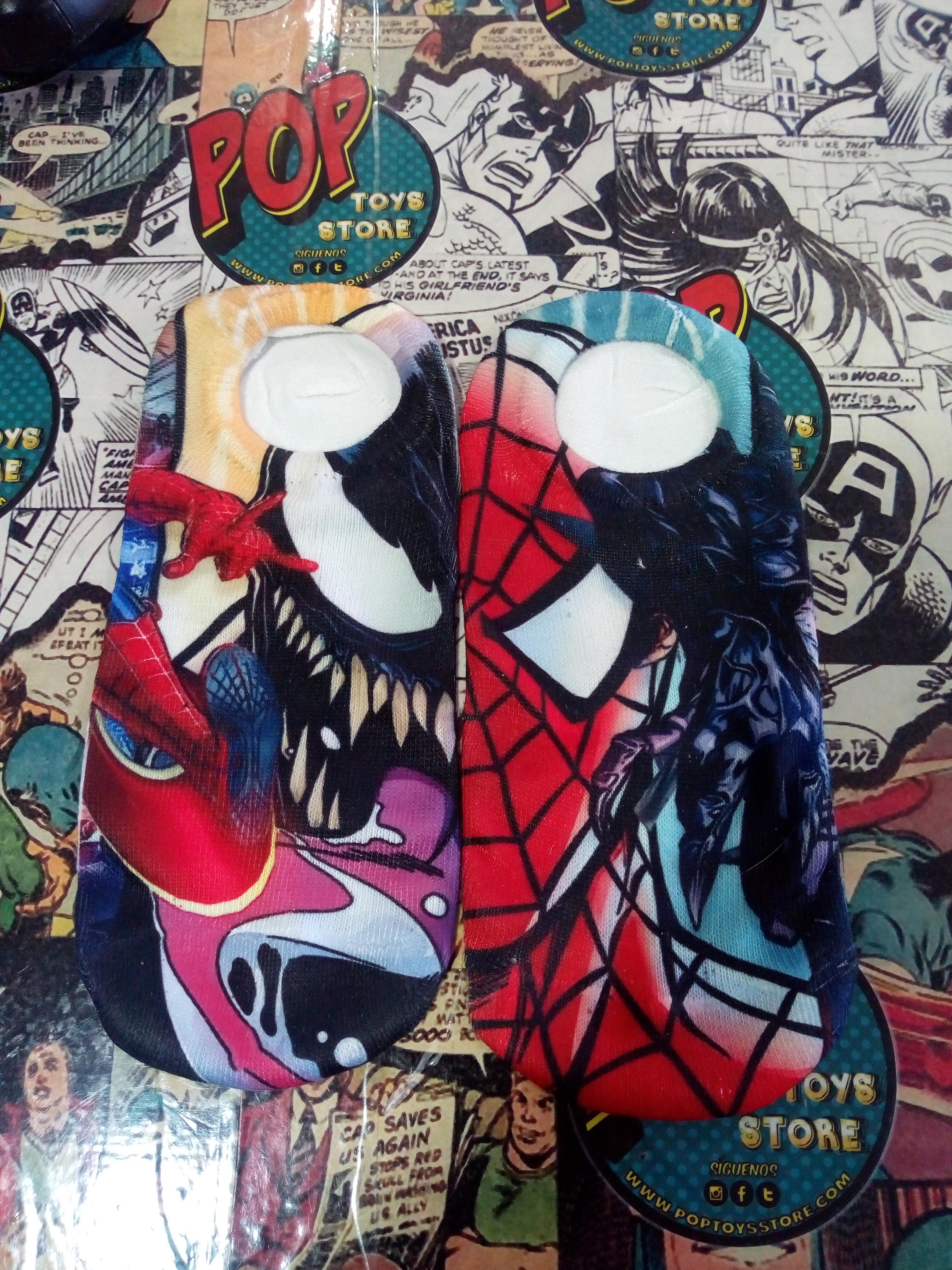 Medias personalizadas Spiderman