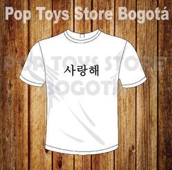 Camiseta kpop 2