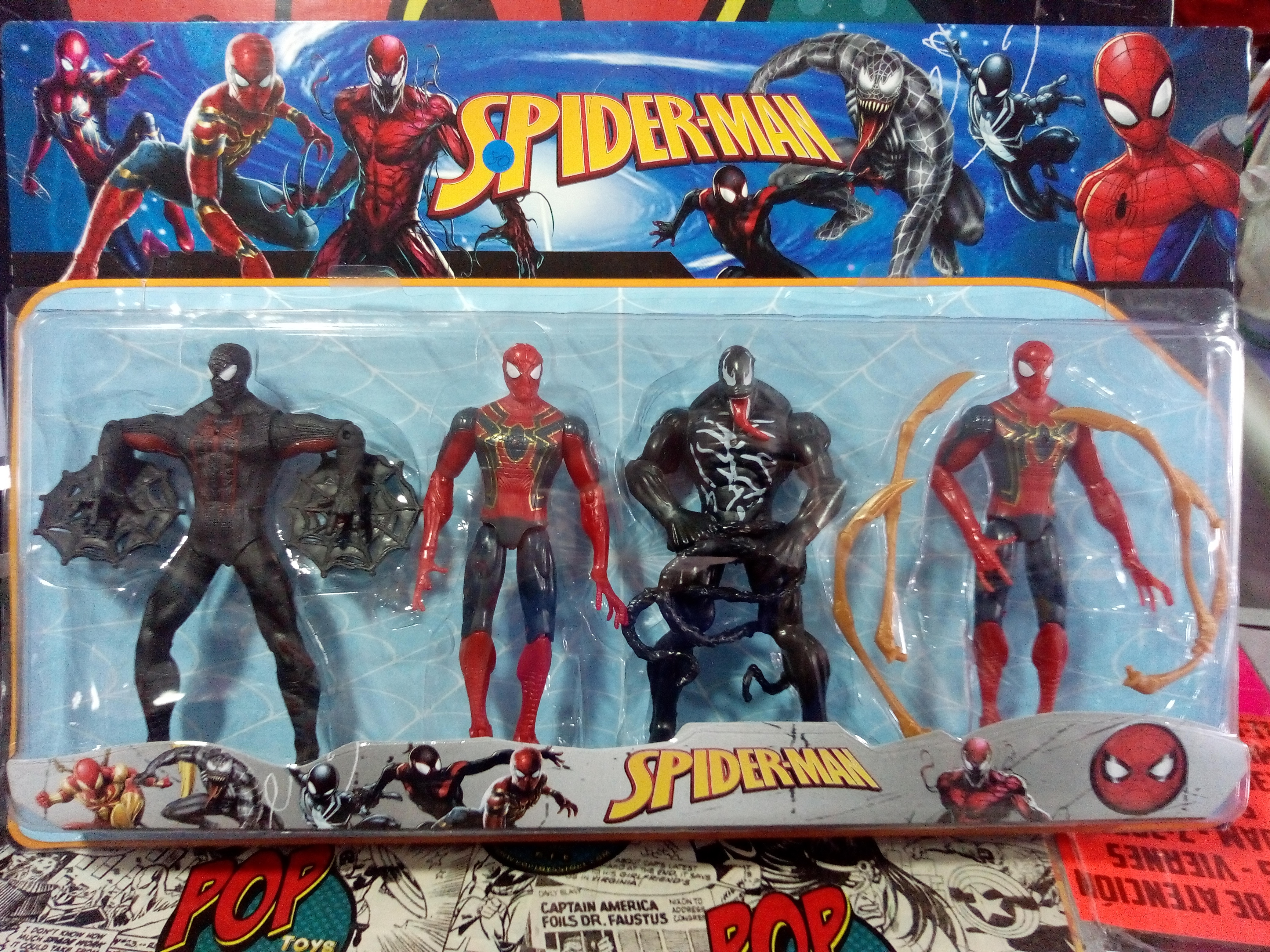 set spiderman 1