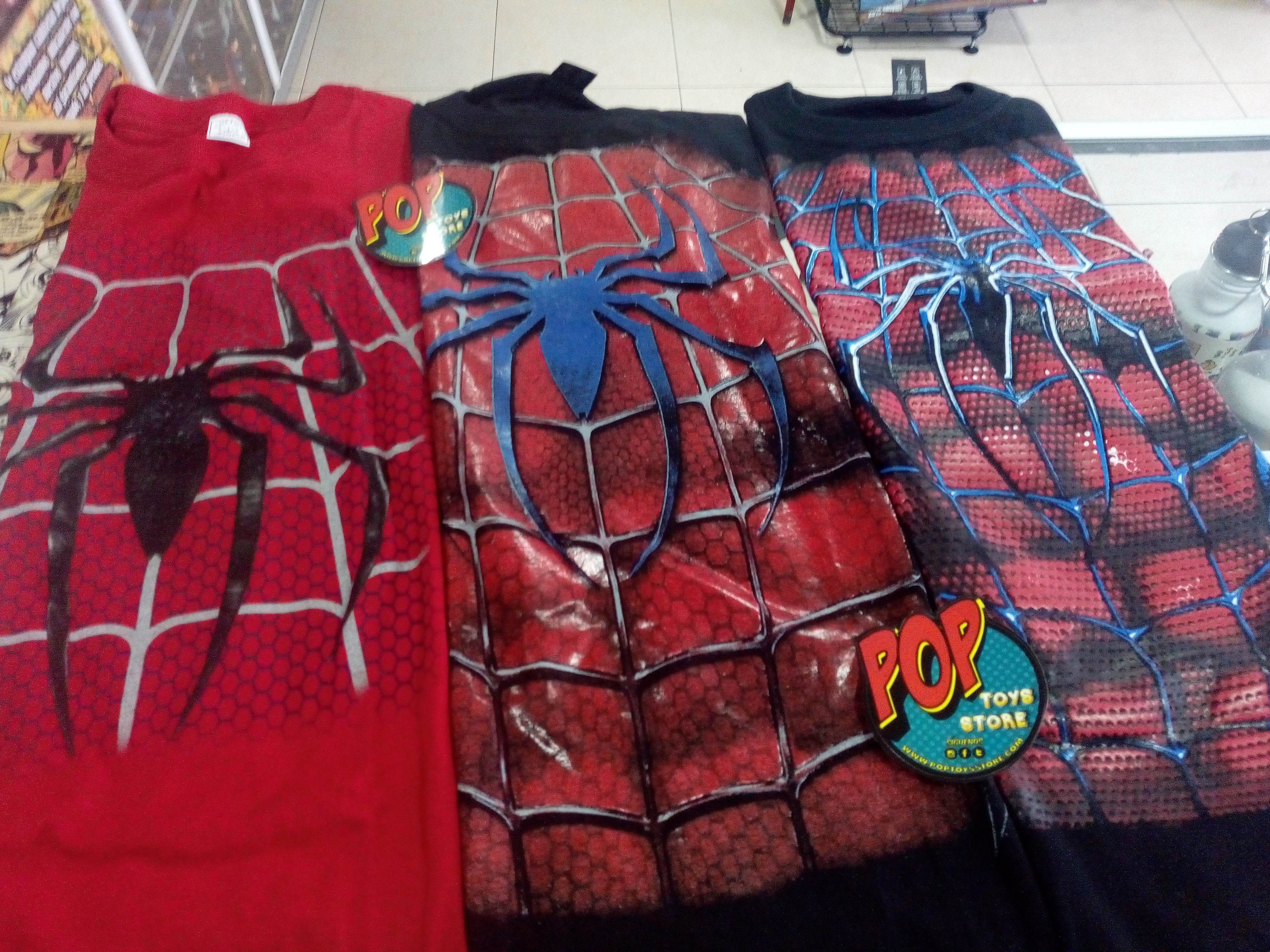 camisetas spiderman 2