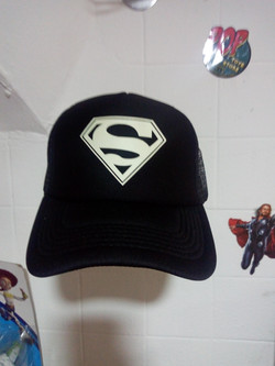 Gorra Fotoluminisente Superman