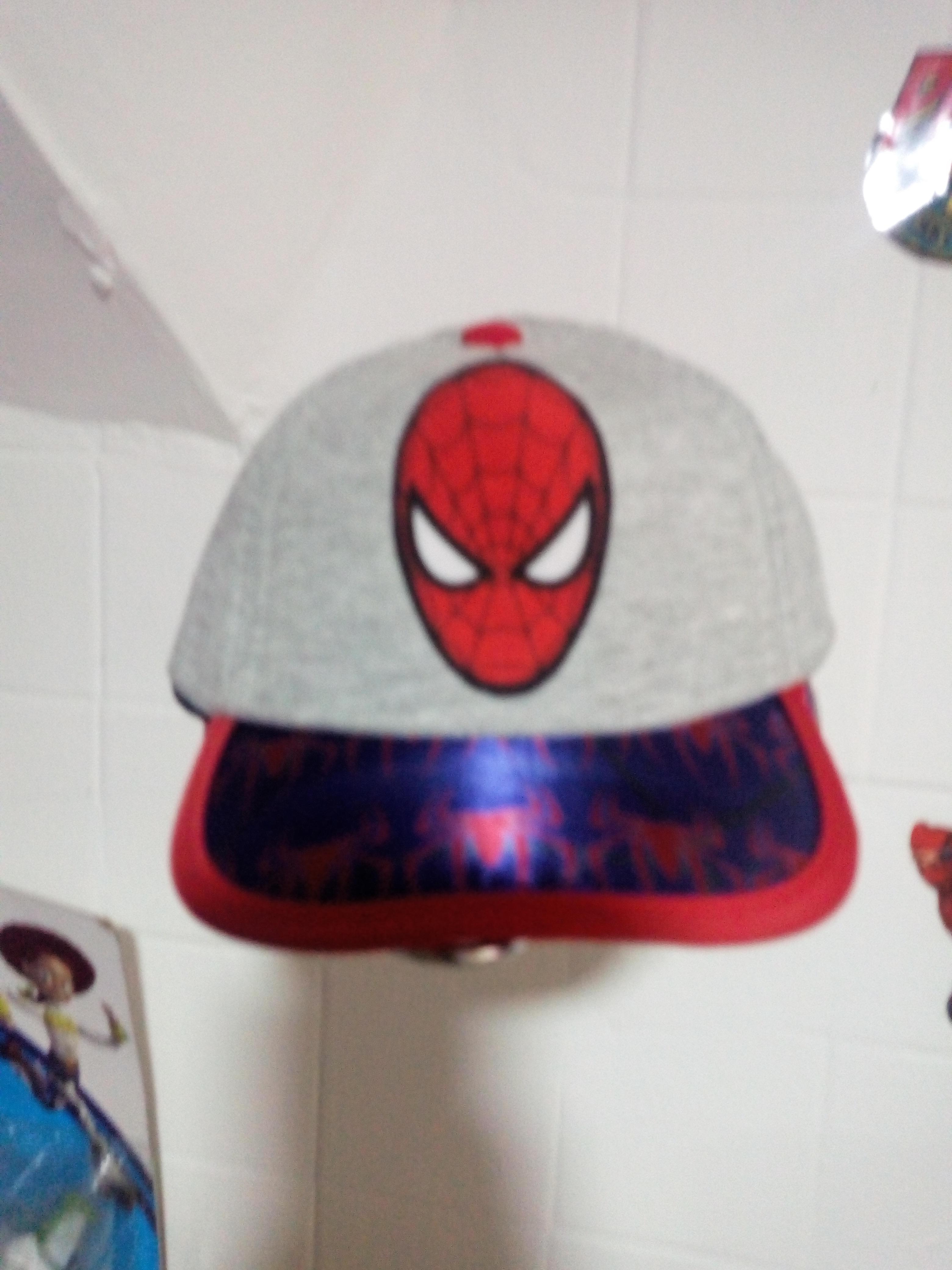 Gorra bebe spiderman