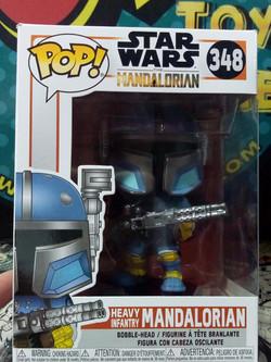 Funko pop Heavy Infantry Mandalorian