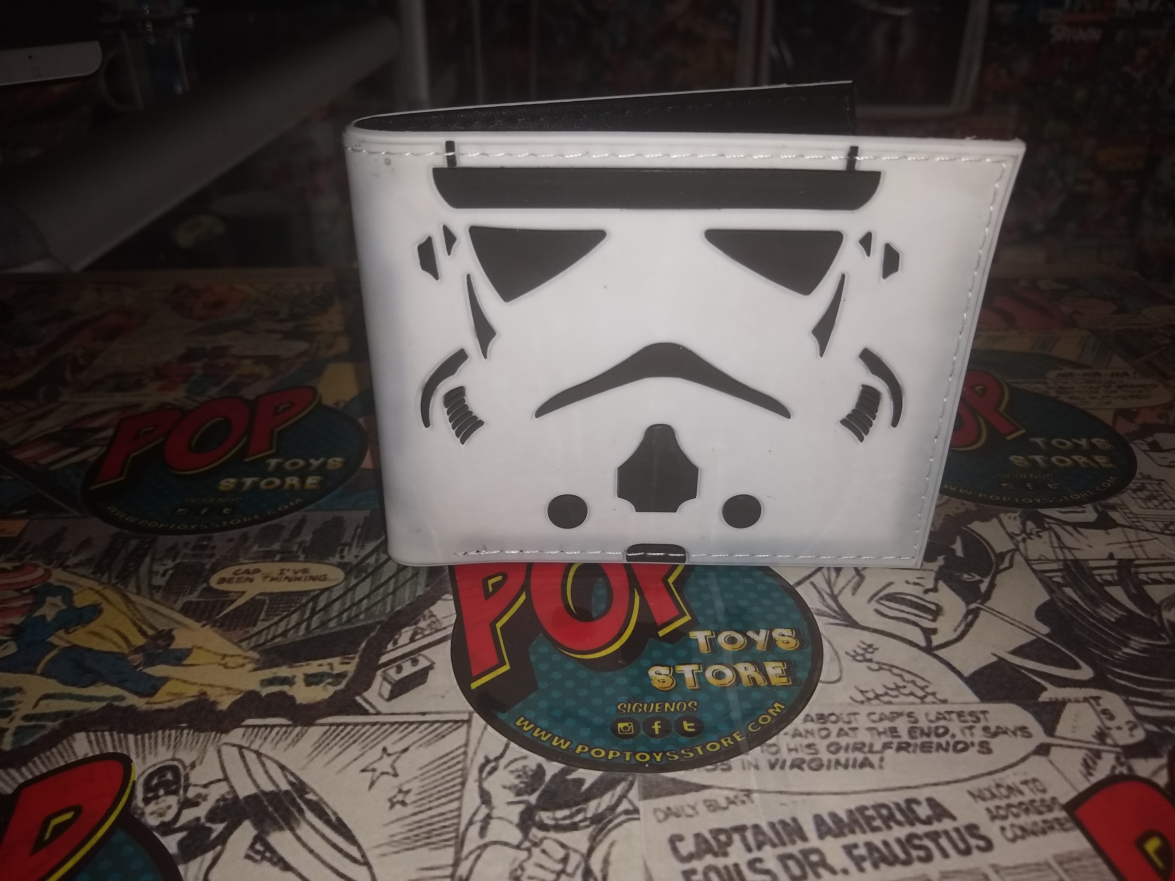 Billetera Stormtrooper
