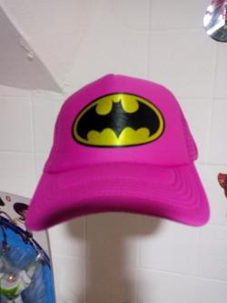 Gorra batman rosa