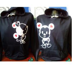 buzos Mickey and minnie 1