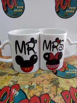 Mug pareja