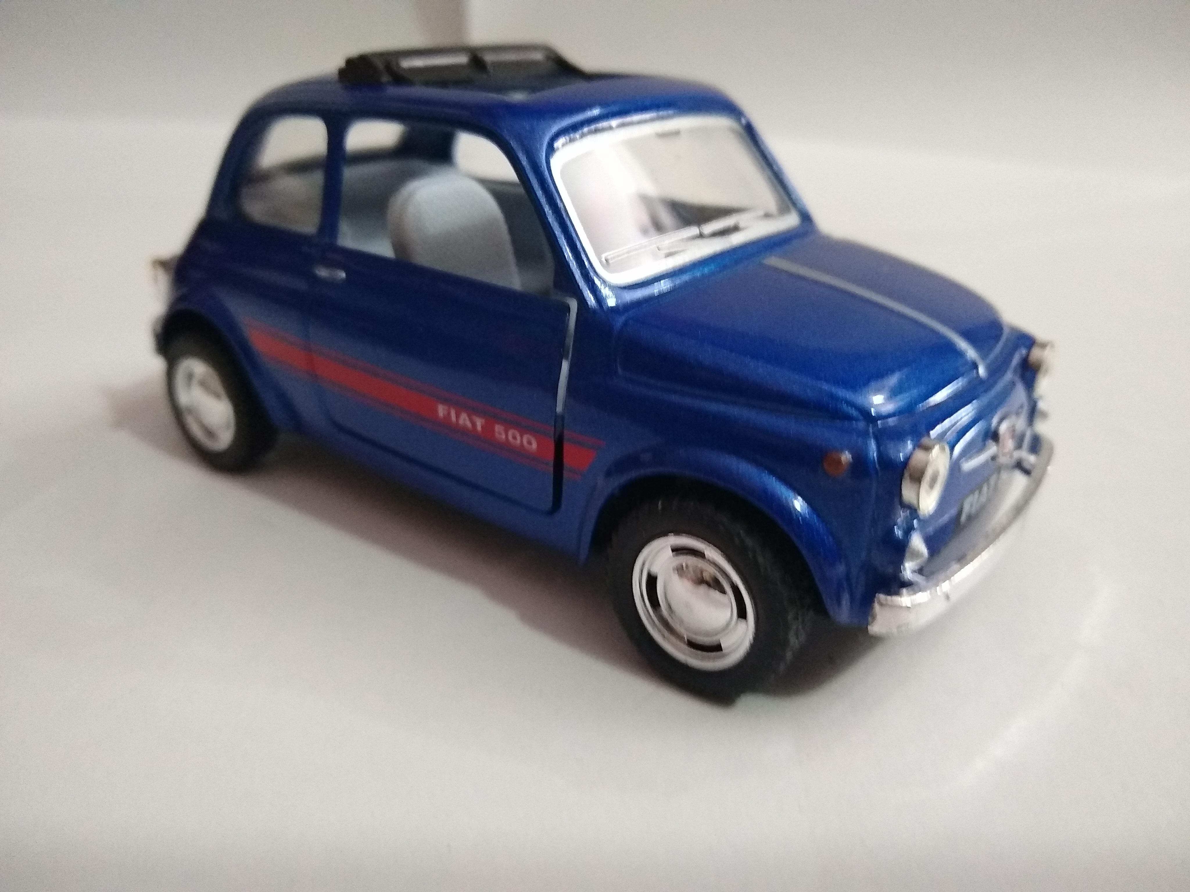 Fiat 500 Azul