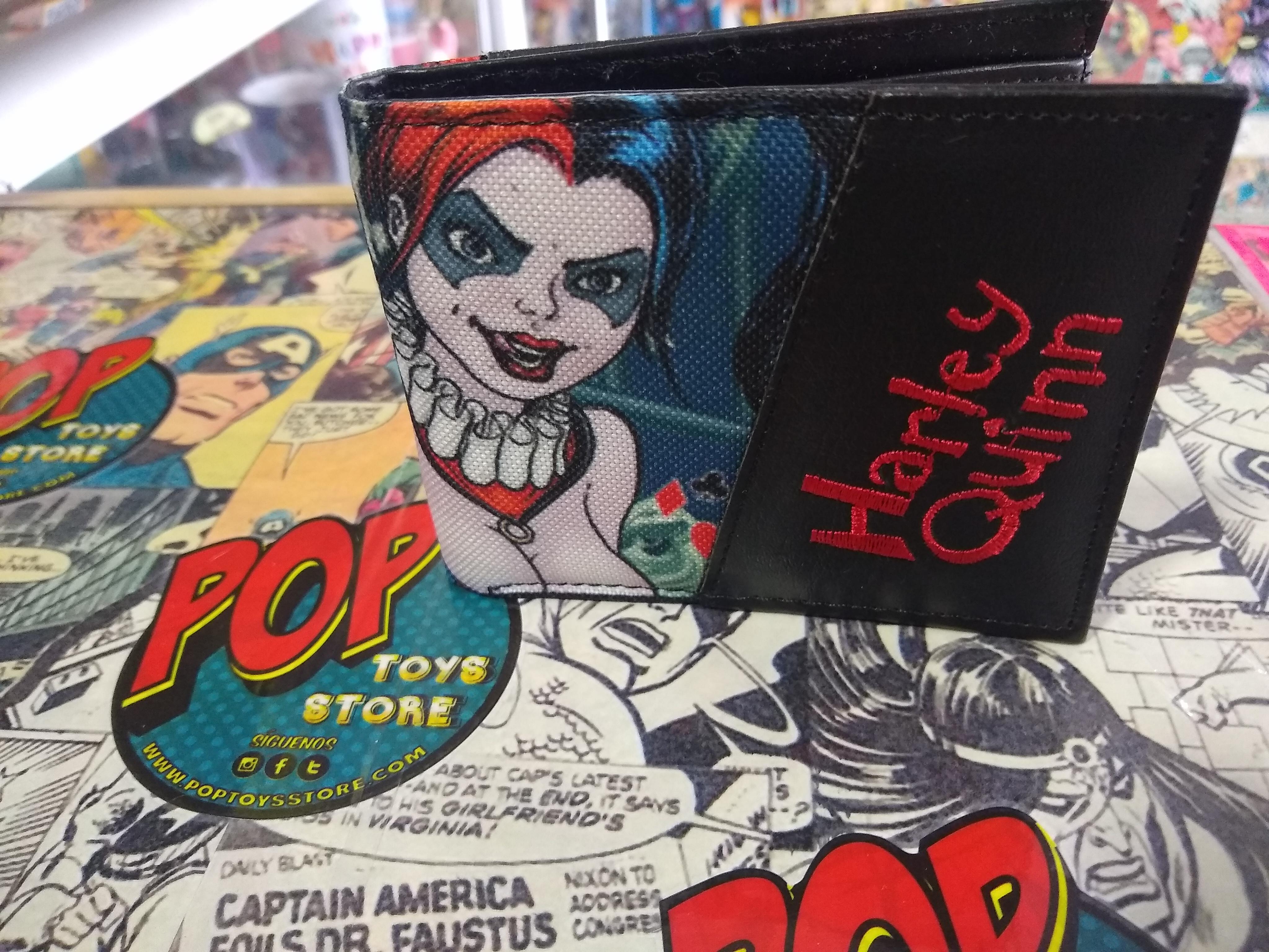 Billetera Harley Quinn comic 2