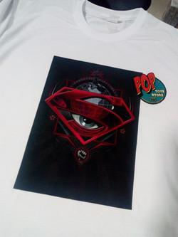 Camiseta superman 2