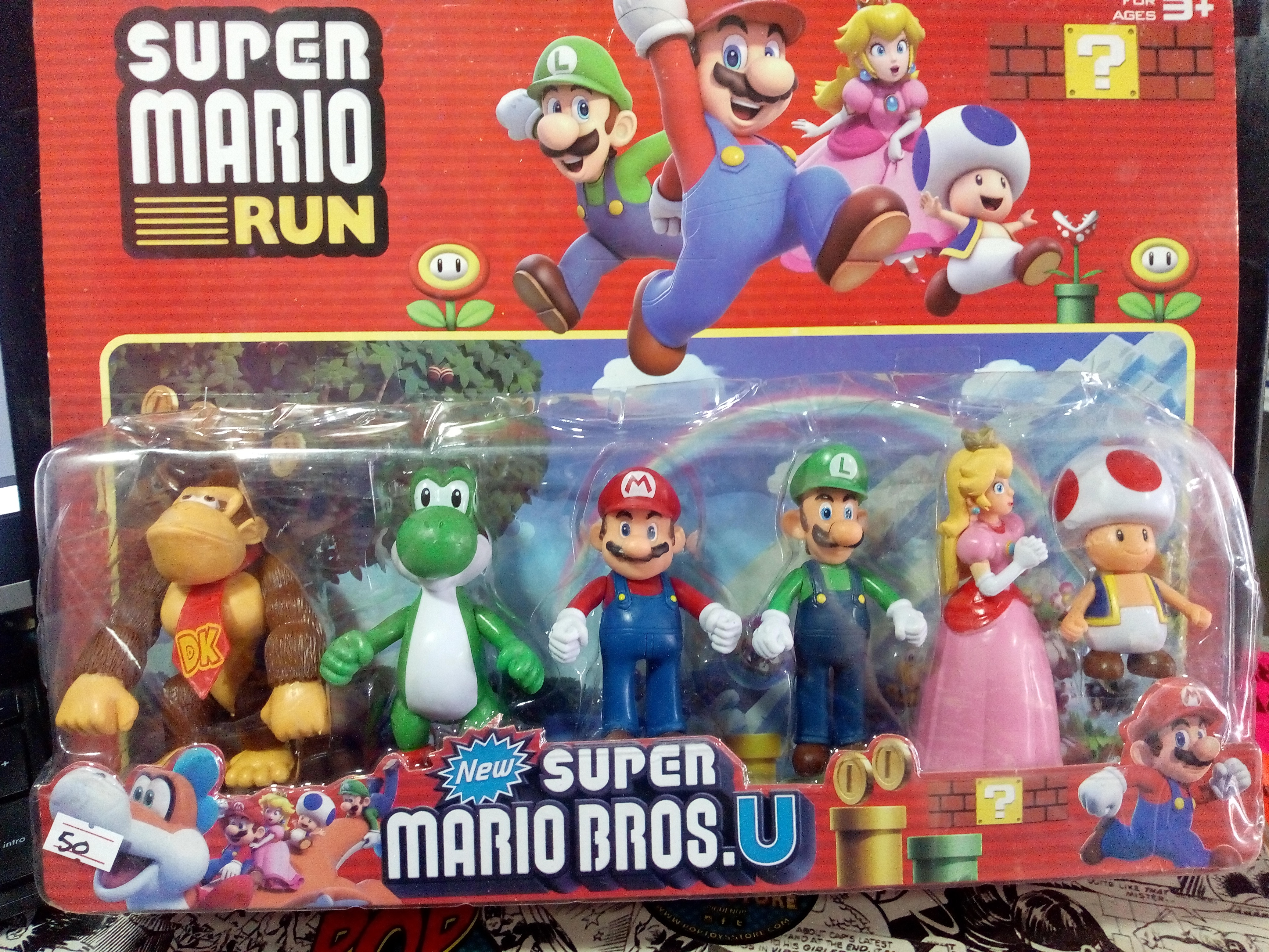 blister Mario bros x 6