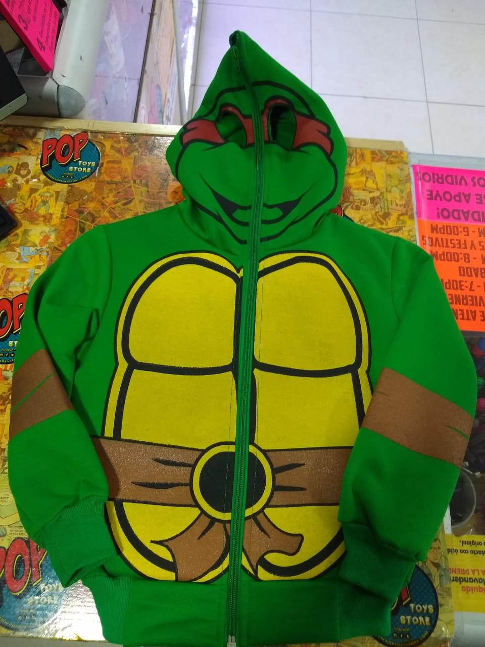 Buzo tortuga ninja niño