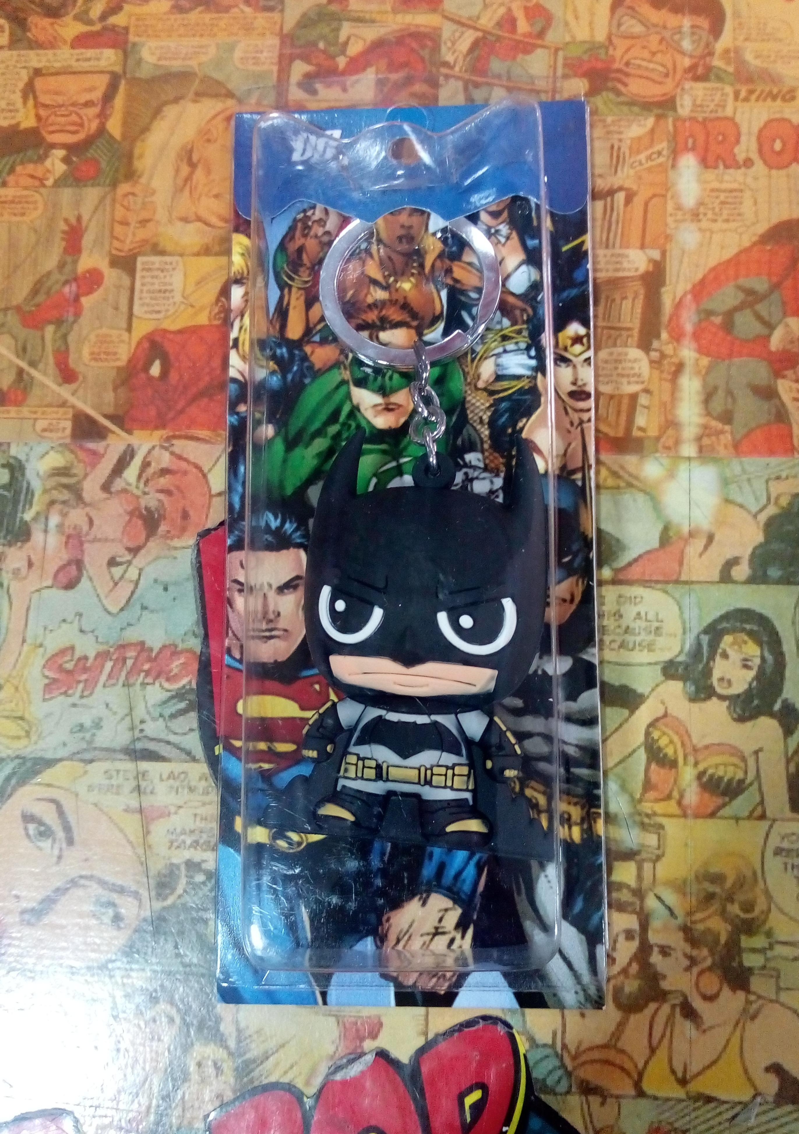Llavero Batman caucho1