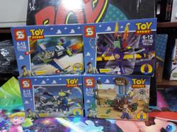 figura tipo lego  toy story