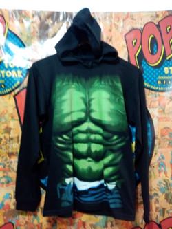 camibuzo con capota Hulk